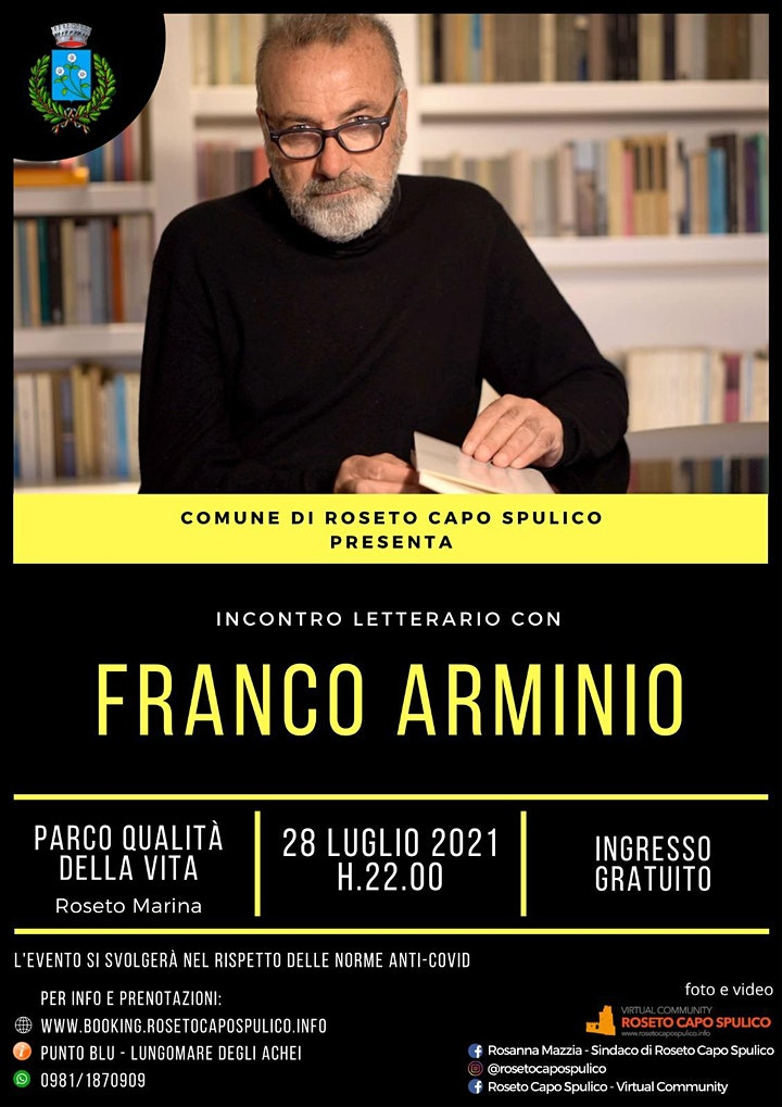 Immagine Incontro letterario con Franco Arminio