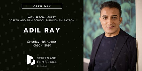 Meet Adil Ray at Screen and Film School Birmingham In-Person Open  Day tickets