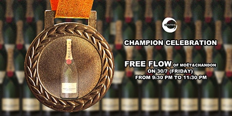 Champion Celebration-FREE FLOW PARTY@Zentral tickets