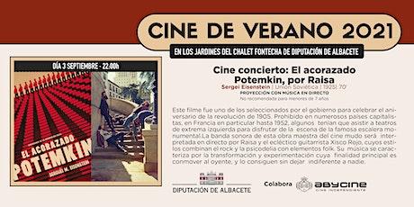 CINE DE VERANO Jardines Fontecha | Cine Concierto | Viernes 3 septiembre entradas