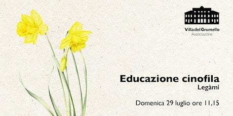 Educazione cinofila | Legàmi biglietti