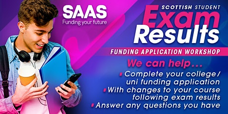 SAAS Exam Results Workshop tickets