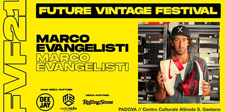 MARCO EVANGELISTI // Future Vintage Festival 2021 tickets