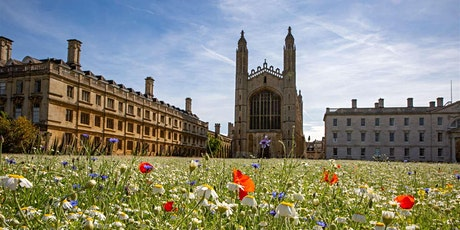2nd Aug - 8th Aug: King's College Chapel & Grounds - Self Guided Visit tickets