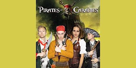 Ciné-Vivant / Pirates des Caraibes (VF) billets