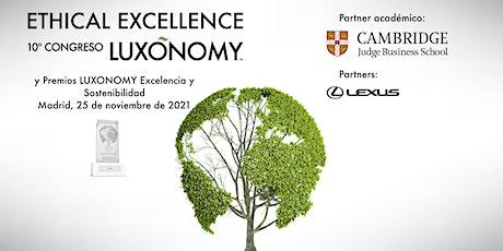 10º Congreso LUXONOMY y Premios LUXONOMY Excelencia y Sostenibilidad entradas