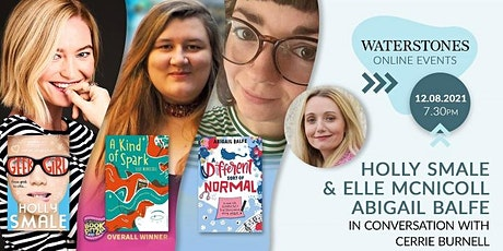 Holly Smale, Elle McNicoll and Abigail Balfe in conversation tickets