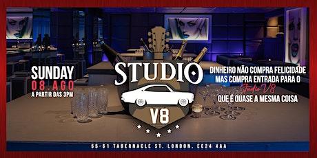 Studio V8 ingressos
