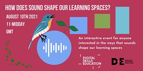 How does sound shape our learning spaces? tickets