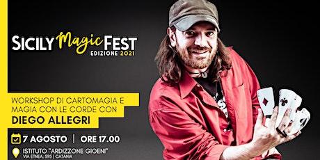 Workshop di cartomagia con Diego Allegri biglietti