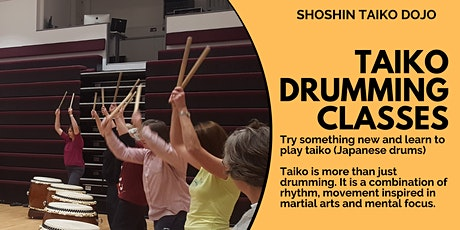 Taiko Drumming Beginners Class - Online tickets
