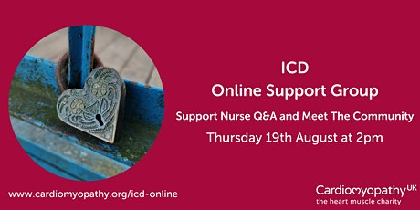 ICD Online Support Group (Q&A & Meet The Community) tickets