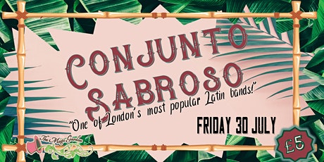Conjunto Sabroso / DJ Russ Jones tickets