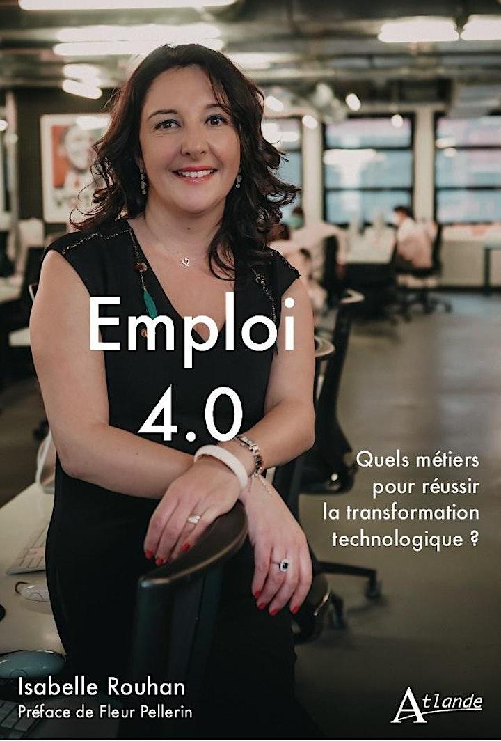 Image pour Lancement du livre Emploi 4.0 par Isabelle ROUHAN, aux Editions Atlande