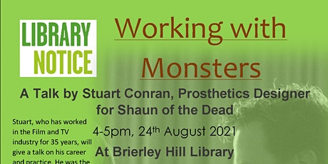 Working with monsters: Stuart Conran - prosthetics designer tickets
