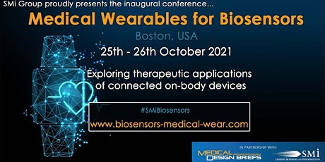 Medical Wearables for Biosensors USA Conference 2021 tickets