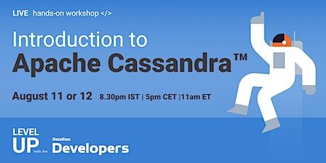 #NoSQL Workshop - Introduction to Apache Cassandra™ tickets