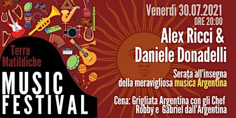 Serata Argentina - Alex Ricci e Daniele Donadelli biglietti