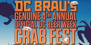 DC BRAU'S GENUINE 4TH ANNUAL OFFICIAL DCBW CRABFEST...