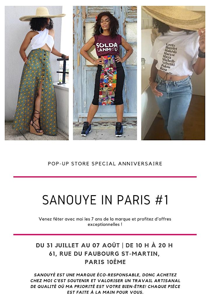 Image pour SaNouYé in Paris #1 _ Anniversaire de la marque et Promotions