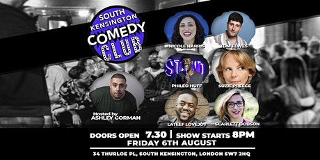 South Kensington Comedy Club's Sunday show is back!!!!!!!! tickets