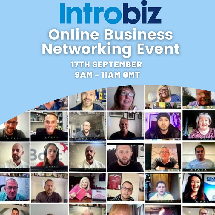 Online Business Networking Event hosted by Introbiz image