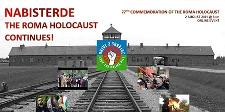 NaBisterde The Roma Holocaust Continues tickets