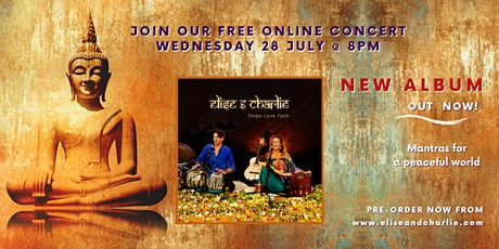 Live Online Concert with Elise & Charlie tickets