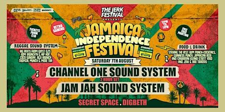 Jerk Festival - Jamaica Independance - Channel One Soundsytem tickets