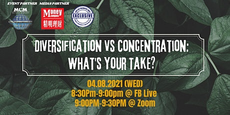 Diversification vs Concentration: What's Your Take tickets