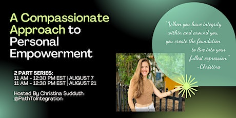 A Compassionate Approach to Personal Empowerment (for women) tickets
