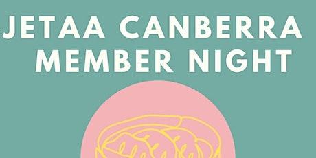 JETAA Canberra Member Drive tickets
