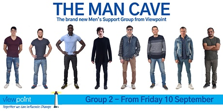 The Man Cave - Men's Peer Support [Group Two, Fridays] tickets
