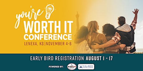 You're Worth It Conference tickets