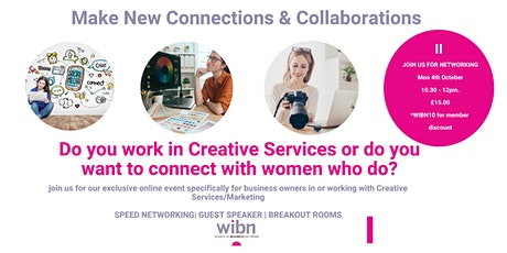 WOMEN IN CREATIVE SERVICES - A SPECIAL NETWORKING EVENT FROM WIBN tickets