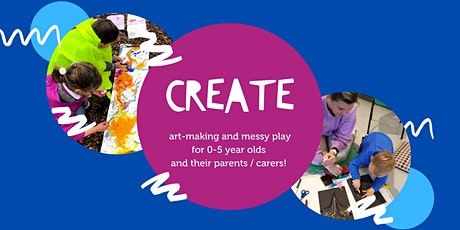 CREATE (Ages 0-5s) tickets