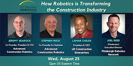 How Robotics  is Transforming the Construction Industry tickets
