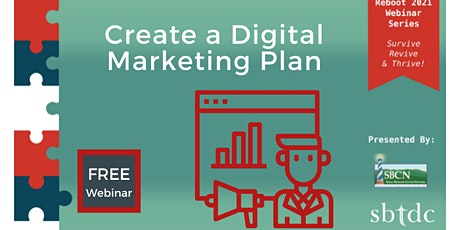Reboot 2021: Create a Digital Marketing Plan tickets
