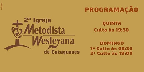 Culto De Domingo (01/08/2021) às 08:30hs tickets