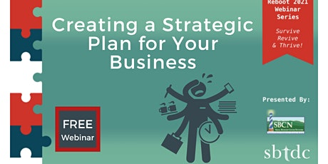 Reboot 2021: Creating a Strategic Plan for Your Business tickets