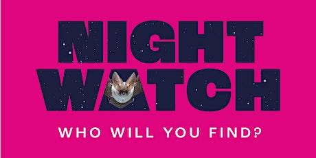 Wildlife for wellbeing: Nightwatch tickets