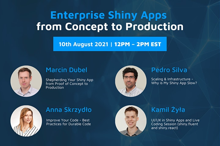 Enterprise Shiny Apps from Concept to Production image