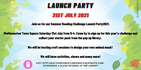 Launch Party- WF Summer Reading Challenge 2021 tickets