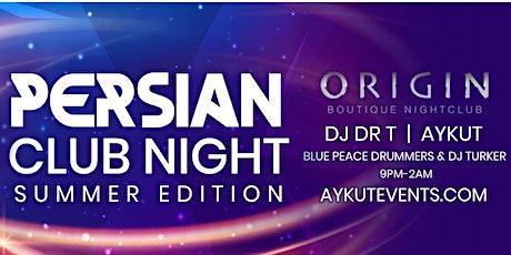PERSIAN CLUB NIGHT! tickets