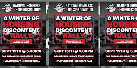 NHHC Housing Crisis Rally 15 Sep at Dáil Éireann tickets