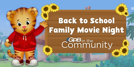 Back to School Family Movie Night tickets