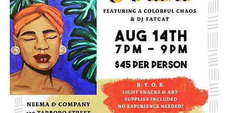Afrobeat and Paint tickets