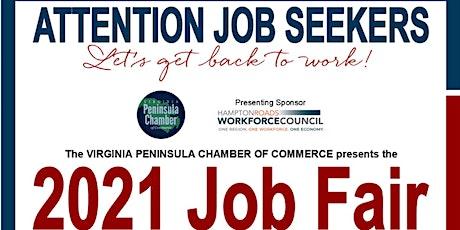 Virginia Peninsula Chamber of Commerce 2021 Job Fair tickets