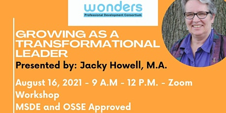 Growing As A Transformational Leader tickets