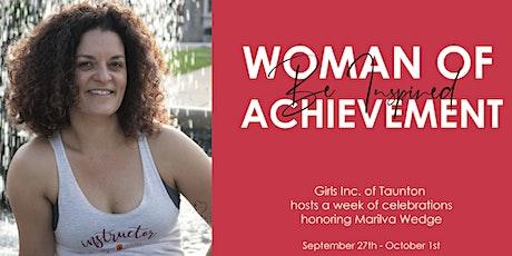 Woman of Achievement Week honoring Marilva Wedge tickets